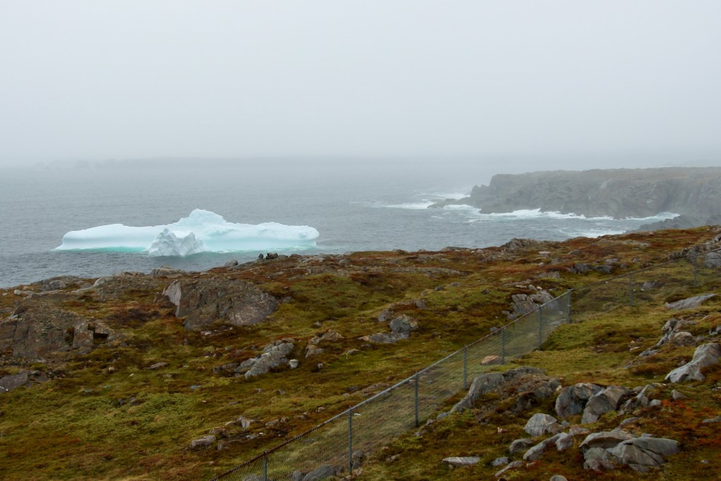 Iceberg sighting as Cape Bonavista Provincial Historic Site